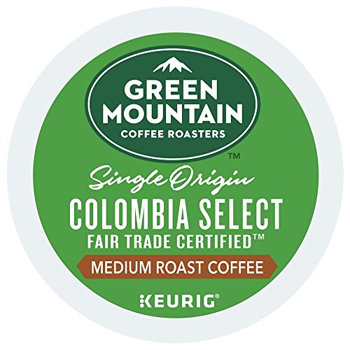 - Green Mountain Colombian Fair Trade Select K-Cups 80 Count - Packaging May Vary