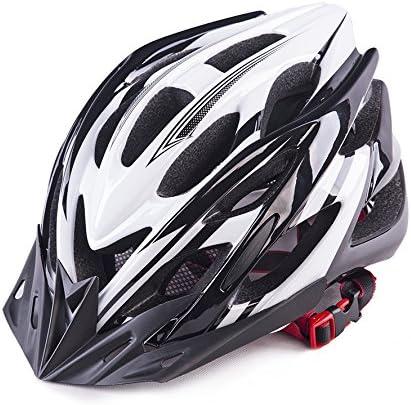 ZL-qxtk Casco,De,Bicicleta,Montar,A,Caballo,Casco,Casco,De,Seguridad,Blanco,Y,Negro