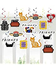 30Ct Friends TV Show Party Hanging Decorations, Friends Theme Friends Fan Birthday Party Decorations Supplies