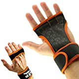 Cross Training Gloves with Wrist Support for Fitness, WOD, Weightlifting, Gym Workout & Powerlifting - Silicone Padding to avoid Calluses - Suits both Men & Women, Strong Grip