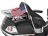 01-10 HONDA GL1800: KURYAKYN ANTENNA FLAG MOUNT WITH UNITED STATES FLAG For Sale