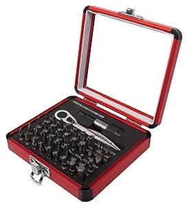 Sunex 9726Mini Llave de trinquete y juego de puntas, 38-Piece, Modelo: 9726, Tools & hardware Store