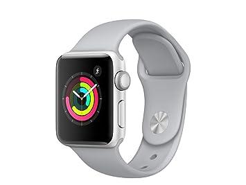 Apple Watch Series 3 Reloj Inteligente Plata OLED GPS ...