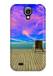 Fashion XIcswNS944UrGOw Case Cover For Galaxy S4(twilight Horizon [02] Paradise Dawn [19august2014tuesday] [versionone] [063852])
