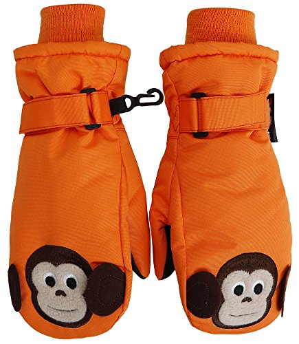 simplikids-boys-winter-3m-thinsulate-waterproof-ski-mitten-glovesxsorange12-monkey