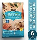 Rachael Ray Nutrish Natural Premium Dry Cat Food, Salmon & Brown Rice Recipe, 6 Lbs