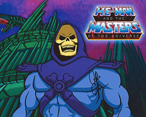 - Masters of the Universe TV Series Signed Autographed by Alan Oppenheimer as the Voice of Skeletor 8x10 Photo