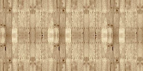 Fadeless Designs Bulletin Board Art Paper, 4-Feet by 50-Feet, Weathered Wood (56515)