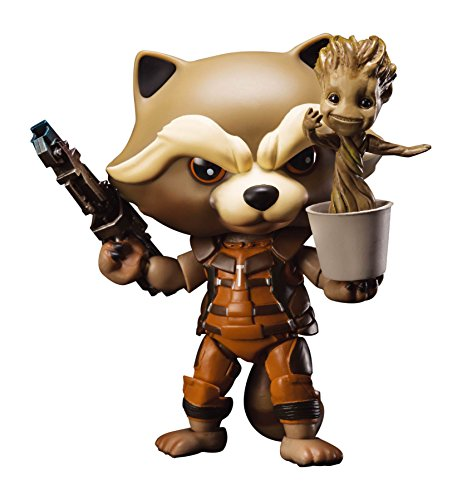 "Beast Kingdom Egg Attack Action Rocket Raccoon ""Guardians of the Galaxy"" Action Figure"
