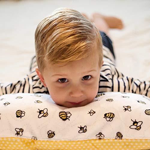 Little Sleepy Head Toddler Pillow White 13 X 18