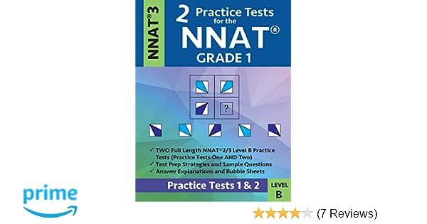 2 Practice Tests For The NNAT Grade 1 NNAT 3