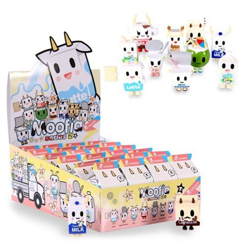 Moofia Mozzarella - Tokidoki Moofia Series 2 Mini-Figure 4-Pack