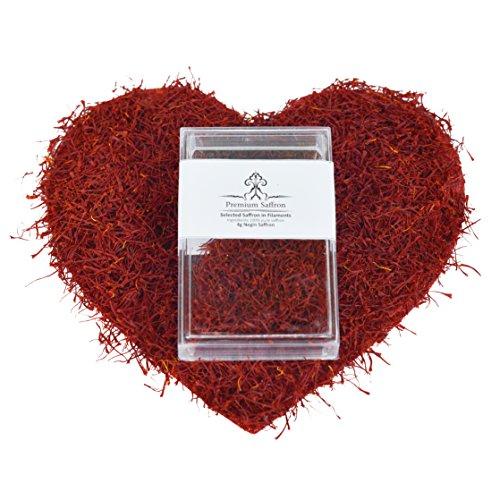 Premium Saffron  One of the best spices, Grade A, Negin, 4gr