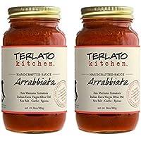 Terlato Kitchen Handcrafted Arrabbiata Sauce, 2 Jars, 24 oz.