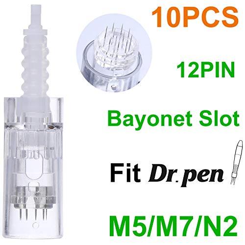 Dr.Pen Ultima M5/M7/N2 12-Pin Cartridges, Disposable Replacement Parts (10pcs) 0.25mm