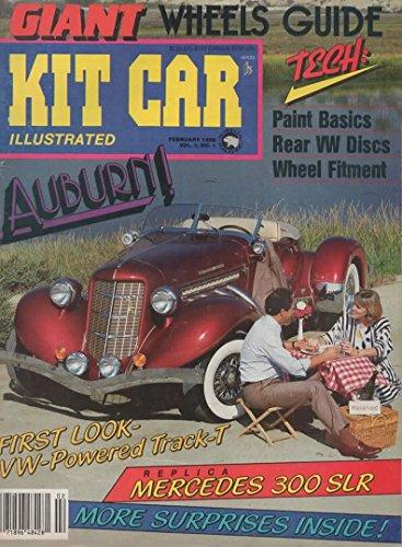 Kit Car Illustrated Magazine, February 1986 (Vol 3, No ()