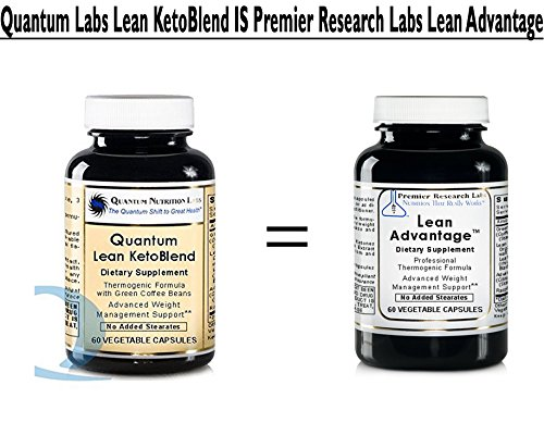 Quantum Lean Advantage KetoBlend 180 Vcaps 3 Bottles, Green Coffee Bean Extract