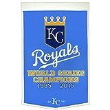 Kansas City Royals Dynasty Banner with 2015 World Series Championship