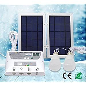 Portable-Solar-Power-Mobile-Lighting-System-Home-Emergency-Lights-Phone-Charger-with-USB-Port-Power-Bank-for-Indoor-Outdoor-Activities-RV-Camping-Patio-Controller-Box-2-x-37V2W-LED-Bulbs