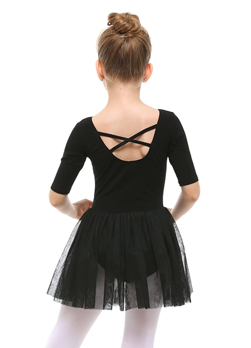afad55ac9 Amazon.com  STELLE Toddler Girls Cute Tutu Dress Leotard for Dance ...