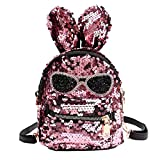 Clearance Sale,Realdo Fashion Girls Sequins Shoulder Bag Student Bling School Travel Backpacks Daypack