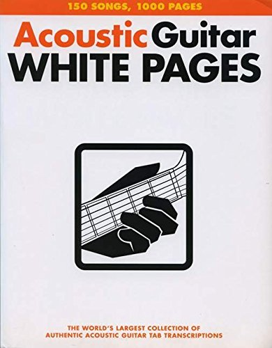 White Pages (Acoustic Rock Songbook)
