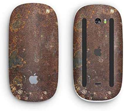 Rustic Textured Surface V3 - Design Skinz Premium Vinyl Decal for The Apple Magic Mouse 2 (Wireless Rechargable)Multi-Touch Surface