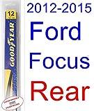 2012-2015 Ford Focus Wiper Blade (Rear) (Goodyear Wiper Blades-Hybrid) (2013,2014)