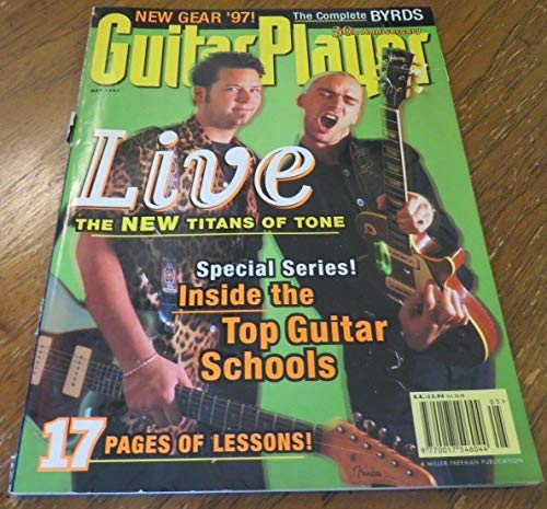 (May 1997 GUITAR PLAYER Magazine Issue 328 Vol 30 No 5 LIVE TOP GUITAR)