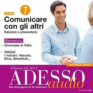 ADESSO Audio - Conversazione. 2/2012 Hörbuch