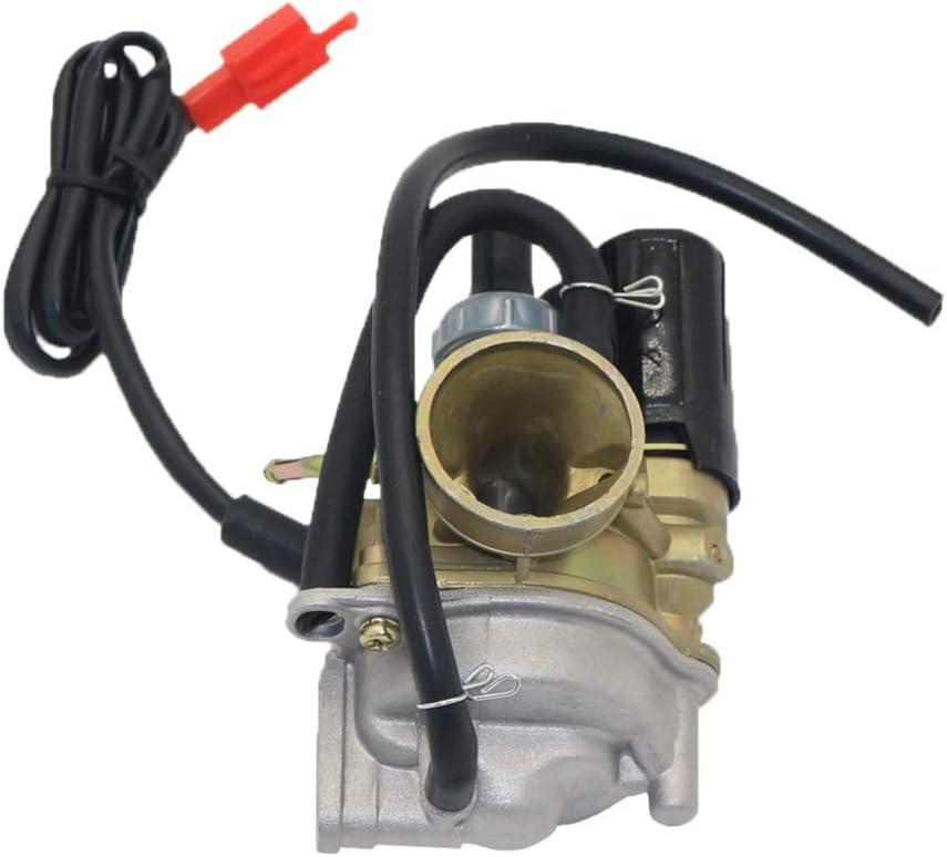 B Baosity Aluminium 17mm Carburetor Replacement for Honda Dio 50 SA50 SYM Kymco Moped Scooter 2 Stroke 50cc Carb