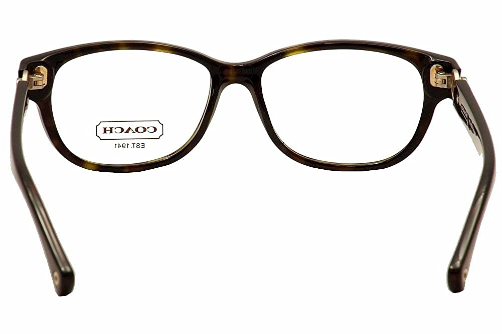 2e56cd597f98 Amazon.com: Coach Amara Eyeglasses HC6038 5001 Dark Tortoise Demo Lens 51  14 135: Shoes