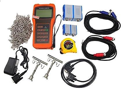 TBF-2000H-TM-1+TS-2 Handheld Digital Ultrasonic Flow Meter FlowMeter