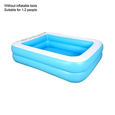 MIZZLES Family Inflatable Swimming Pool Wear-Resistant Thick Marine Ball Blow Up Swimming Pool for Kids, for Family Party Water Sports (50X33): Toys & Games