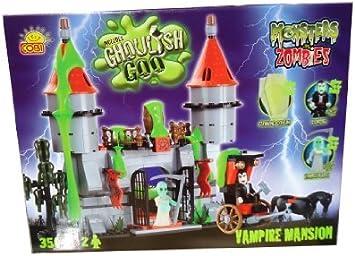 Monsters Vs Zombies /28350/ Dracula Mansion, 350 Building Bricks By Cobi by Monsters vs Zombies: Amazon.es: Juguetes y juegos