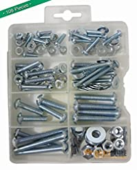 Bolts, Nuts, and Washer Assortment Kit, ...