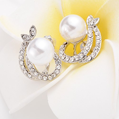 Jewelry Earrings and Necklace Set Morenitor TM Pearl Pendant