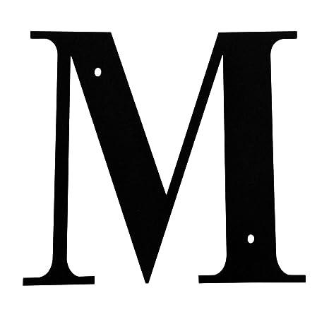 Amazon.com: Cartas de direcciones Hierro Casa carta M 6 ...