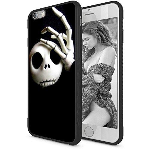 iPhone 6s Case,Onelee [Scratchproof][Never Fade] Disney Cartoon The Nightmare Before Christmas Jack Skellington & Sally iPhone 6S 4.7