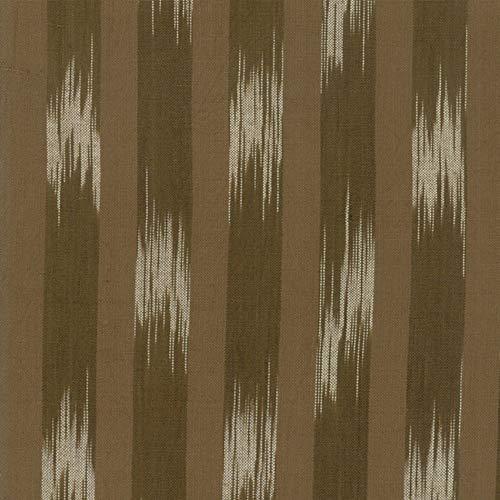 Woven Railroad Stripe - Moda Fabrics Boro Flax Woven Railroad Stripe