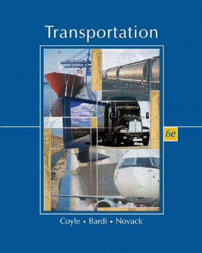 Transportation (with InfoTrac) (Available Titles CengageNOW)