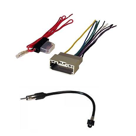 amazon com radio wiring harness for 2007 up select chrysler jeep rh amazon com