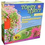 Topsy Turvy® Hummingbird Upside Down Planter - red