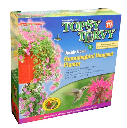 Topsy Turvy Hummingbird Upside Planter product image