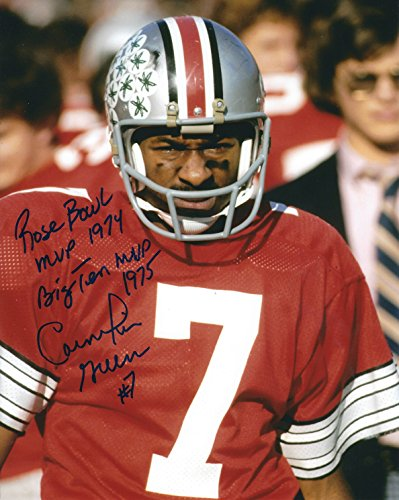 Autographed Cornelius Greene Ohio State University 8x10 Photo - Greene Autographed Photo