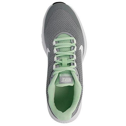 Nike Womens Runallday Löparskor Vit-grå-gröna