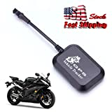 Clearance ! ღ Ninasill ღ Exclusive Mini Vehicle Motorcycle Bike GPS/GSM/GPRS Real Time Tracker Monitor Tracking (Black)