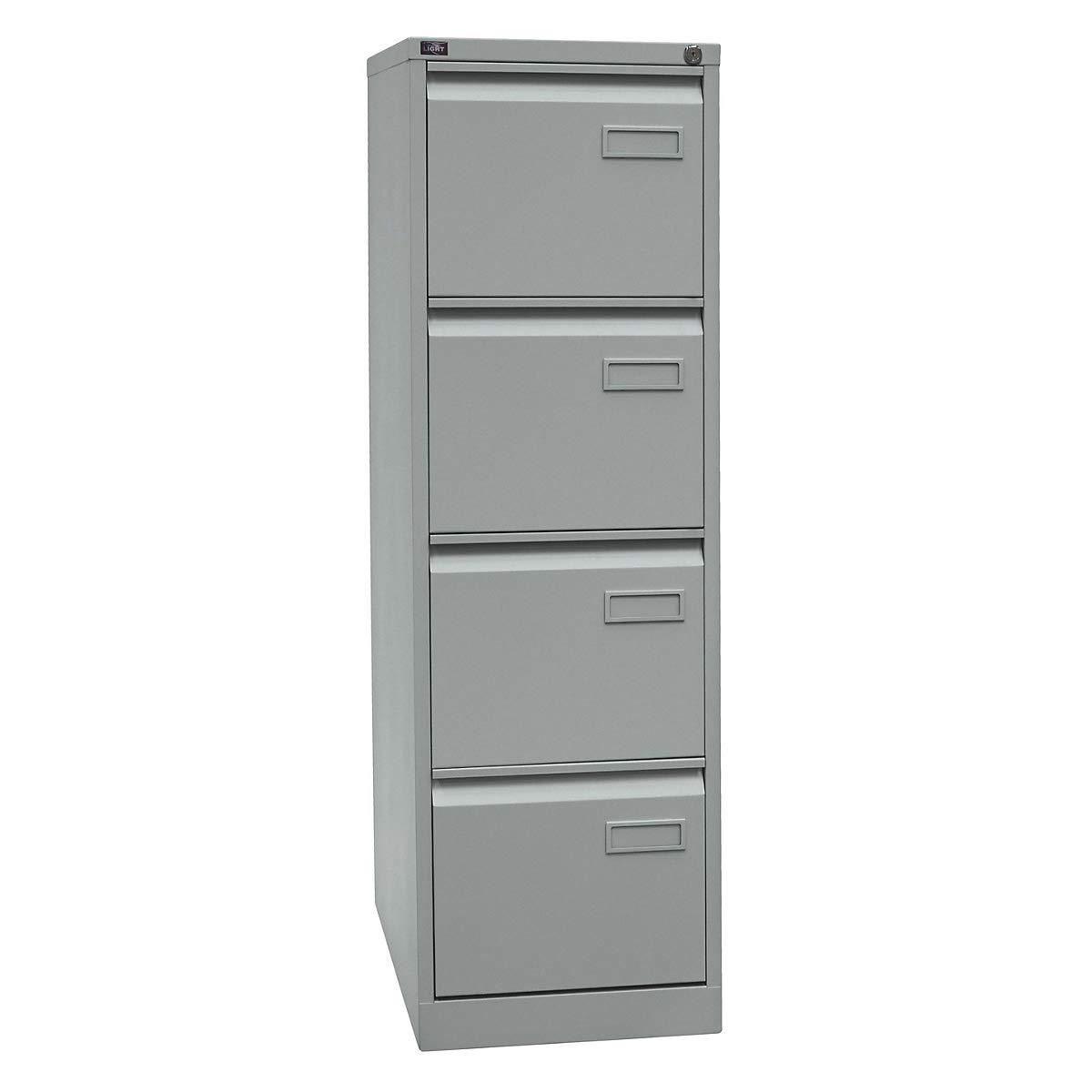 BISLEY Armoire UNIVERSAL 4 tiroirs pour dossiers suspendus L413xP622xH1321 mm Noir