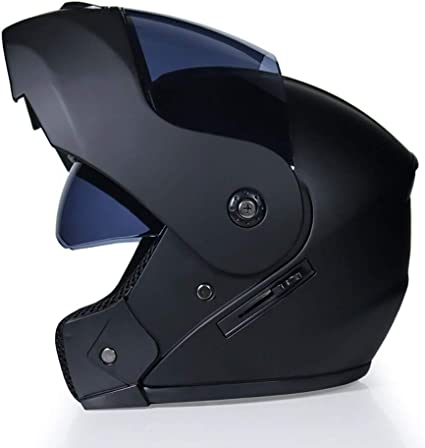 Amazon.es: Betrothales Flip-Flop Moto Casco Integral Casco Moto ...