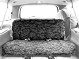93 bronco camo seat covers - CalTrend Rear Row Solid Bench Custom Fit Seat Cover for Select Ford Bronco Models - Camouflage (Urban)
